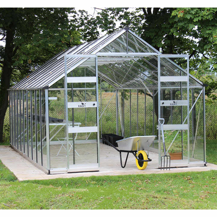 Eden Bourton Greenhouse - 10' x 20'
