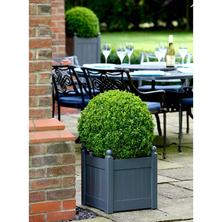 "Classic Planter - 15"" Heritage Charcoal"