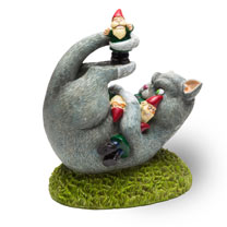 Gnome Cat Attack