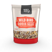 900g Robin Feed Bag and Deluxe Seed Feeder Combo