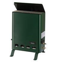 Image of Green 2kW Pro Greenhouse Heater
