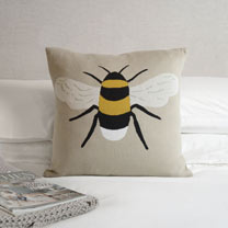 Image of Big Bee Soft Knitted Cushion