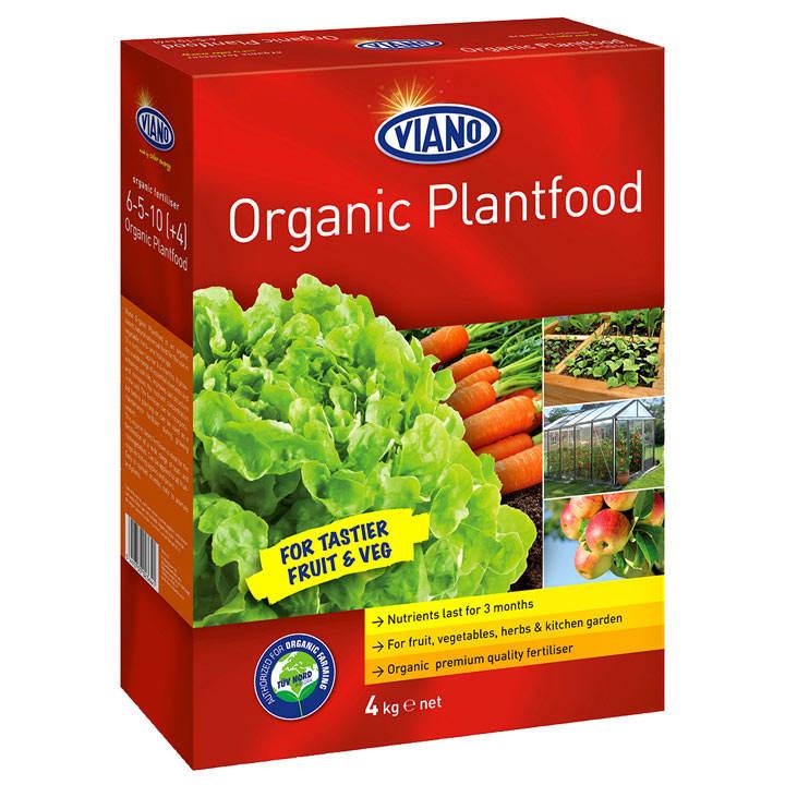 Viano Organic Based Plant Food - 4kg