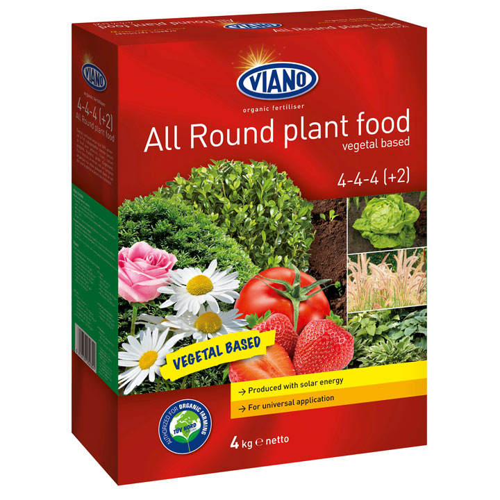 Viano Animal Free All Round Plant Feed - 4kg
