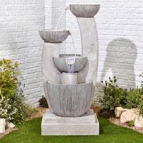 Greek Columns Easy Fountain