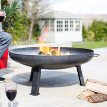 Pittsburgh Heavy Duty Steel Firepit - Medium