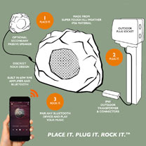 All-in-one Bluetooth Garden Rock Speaker / Passive Speaker