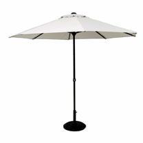 Easy Up Parasol - Grey 2.7m