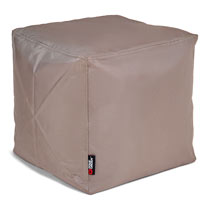 The Pouf Bean Bag Footstool - Taupe/Mocha