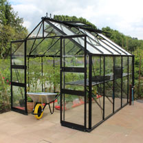 Eden Blockley Greenhouse - 8' x 10'