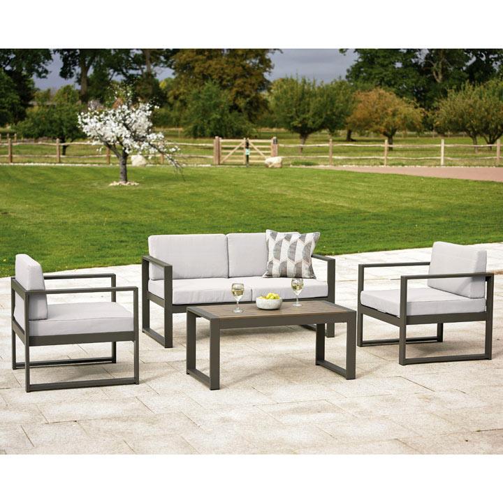 San Remo Aluminium Sofa Set