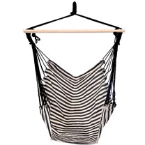 Hanging Hammock Chair - Black