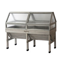 VegTrug Classic Cold Frame - 1.8m Greywash