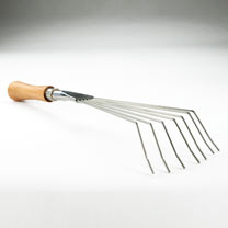 Leaf Rake - 14cm Cherry Handle