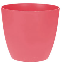 18cm 'Ella' Flower Pot - Pink