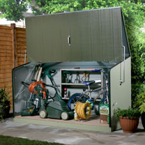 RHS Storeguard In Two Tone Green with floor