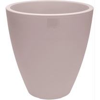 Swap Top Large Flower Pot - 39cm Beige