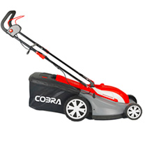 "Cobra 16"" Electric Lawnmower with Rear Roller"