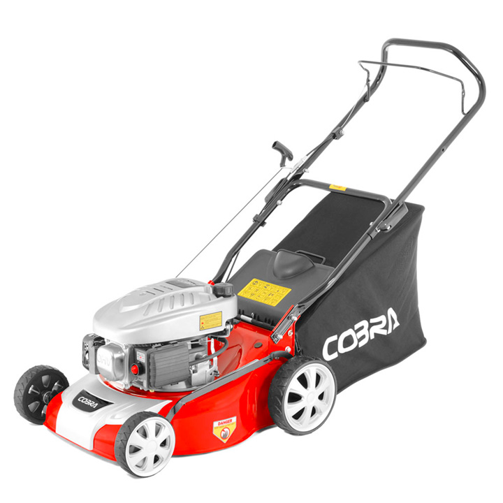 "Cobra 16"" Petrol Power Lawnmower"