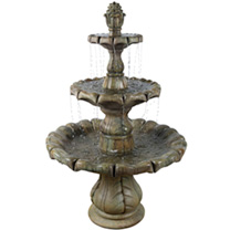 Classic Finial Fountain 6 Piece - Relic Nebbia