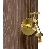 Watering Post Wooden Effect