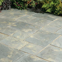 Image of Abbey Paving Random Patio Kit - 10.22m2 Antique