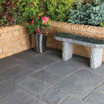 Minster Paving Random Patio Kit - 5.76m2 Graphite