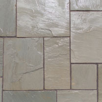 Natural Sandstone Patio Kit - 15.3m2 Lakefell