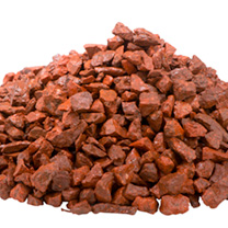 Red Chippings - Bulk