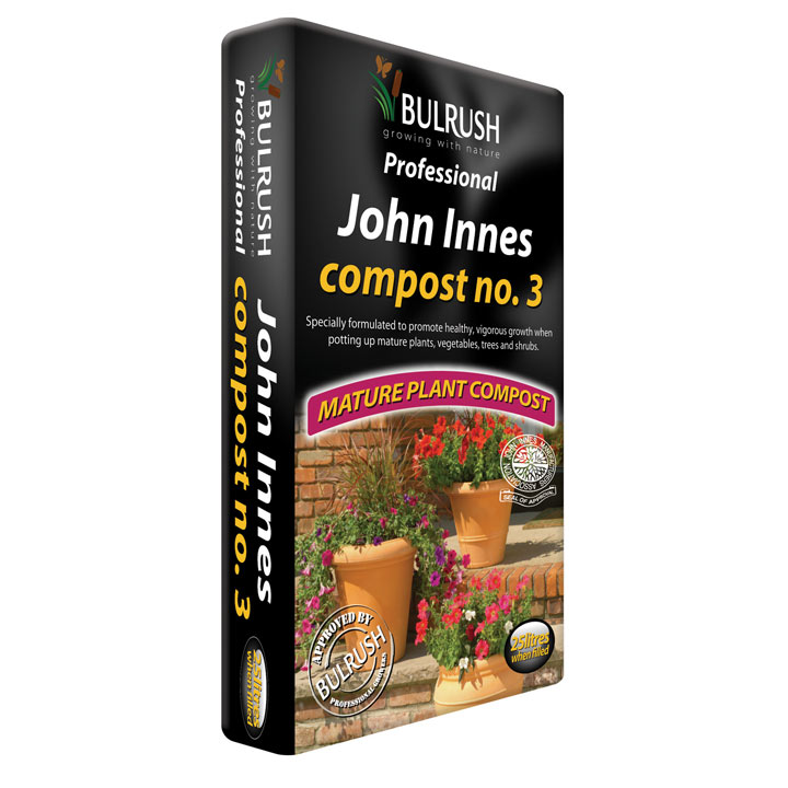 john innes compost no 3 25 litre compost grow your. Black Bedroom Furniture Sets. Home Design Ideas