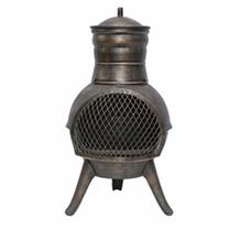 Squat Cast & Steel Chimenea