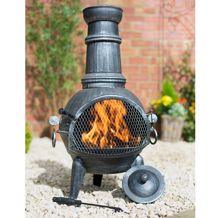 Arriba Medium Chimenea with Grill