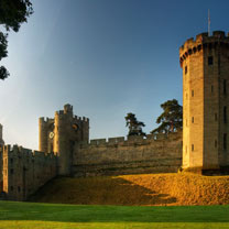 Visit to Warwick Castle with Afternoon Tea at the Conservatory Tea House for Two