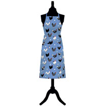 Image of Hens Apron, Tea Towel, Oven Glove & PVC Bag