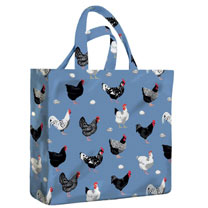Hens Medium Gussett PVC Bag