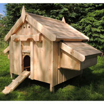 Cottage Chicken House - 2 Nest Boxes