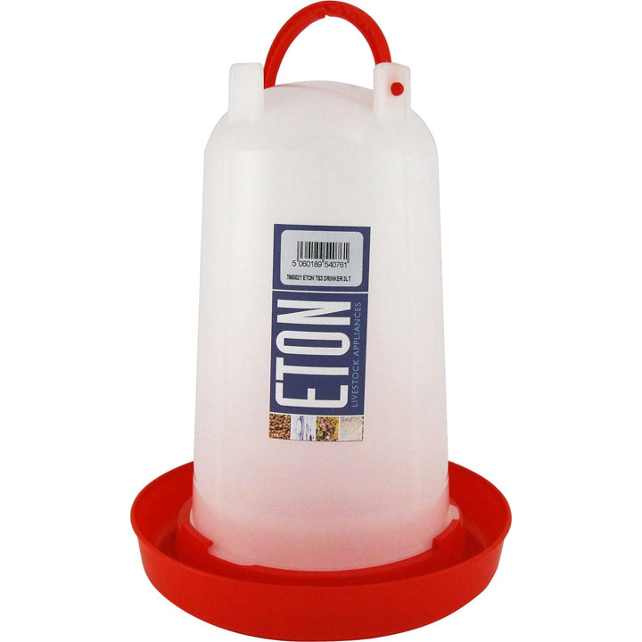 Eton TS Drinker - Red 3 Litre