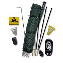 Gated Electric Fence Kit - 25m