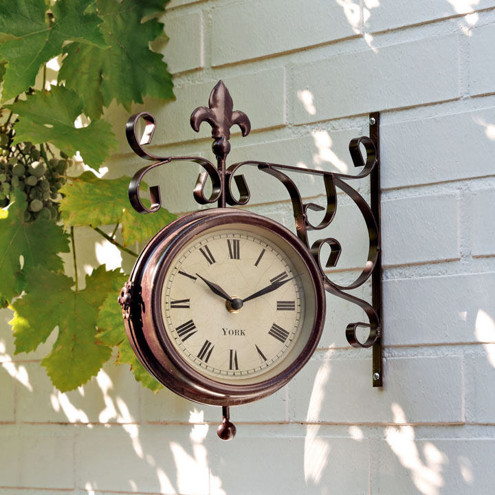 Reversible Clock/Thermometer
