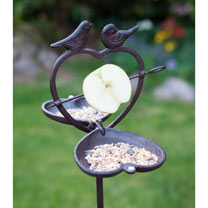 Bird Apple Feeder + FREE Sunflower Hearts