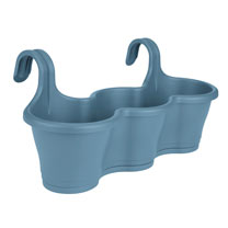 Corsica Easy Hang Trio Planter - Vintage Blue