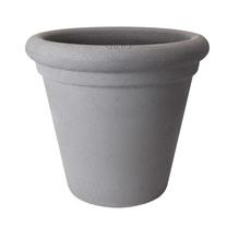 40cm Allure Doppio Pot - Mineral Clay Colour