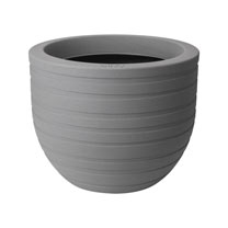 Image of 40cm Allure Ribbon Pot - Mineral Clay