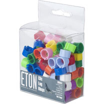 Clic Leg Rings 8mm - Assorted Colours