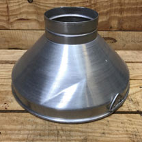 Aluminium Heat Lamp Shade