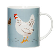 Hugletts Hens - Two Mugs