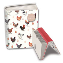 Image of Chicken Stationery - Concertina Wallet