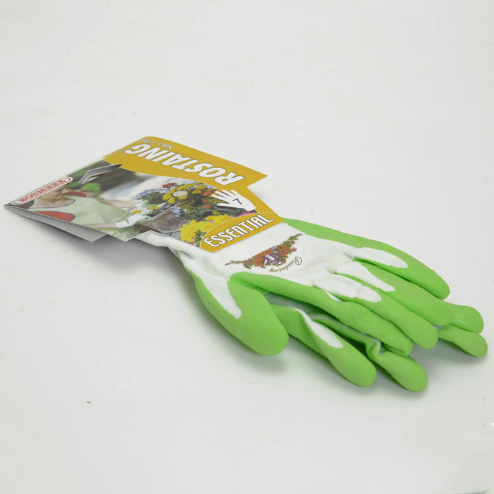 Gardening Gloves - Ladies Essential Latex Palm Size 7