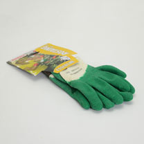 Gardening Gloves - Essential Latex Rose Glove Green