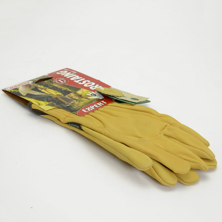 Gardening Gloves - Premium Washable Leather Gloves - Size 9